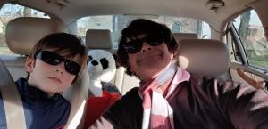 Giel, panda en papa